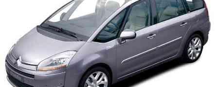 7 Seater Car Rental Review -  (Citroen C8 and Citroen C4 Picasso)